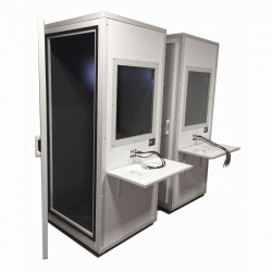 Cabina insonorizada para audiometrías SST2004